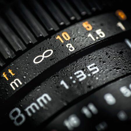 Professional photography camera